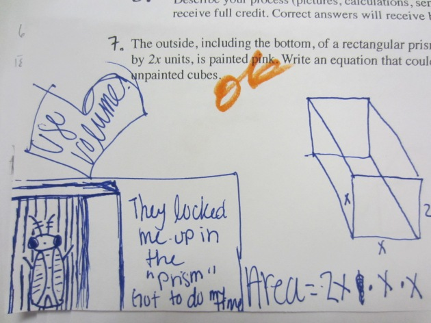 A's awesome prism quiz doodle
