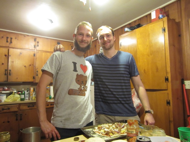 The pizza bros did it again: yet another delicious Sunday night dinner to fortify us through our journey to Westeros.
