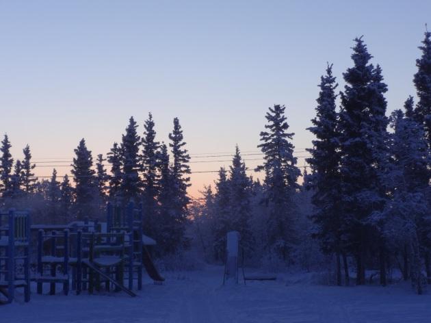 frozen playground