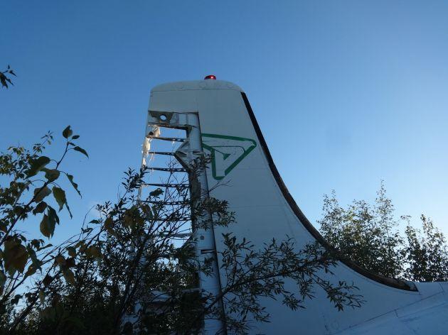 plane tail